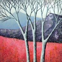 Elegant Birches VI ©Deborah Burrow