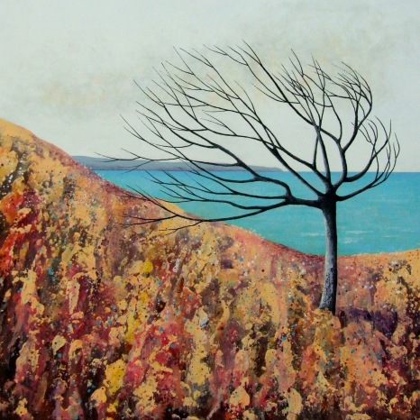 "Wild Coast II ©Deborah Burrow 12x12"" £295"