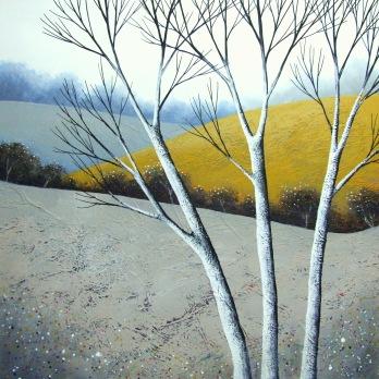Elegant Birches IV ©Deborah Burrow SOLD