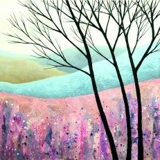 "Enchanted Land IV ©Deborah Burrow 8x8"" £185"